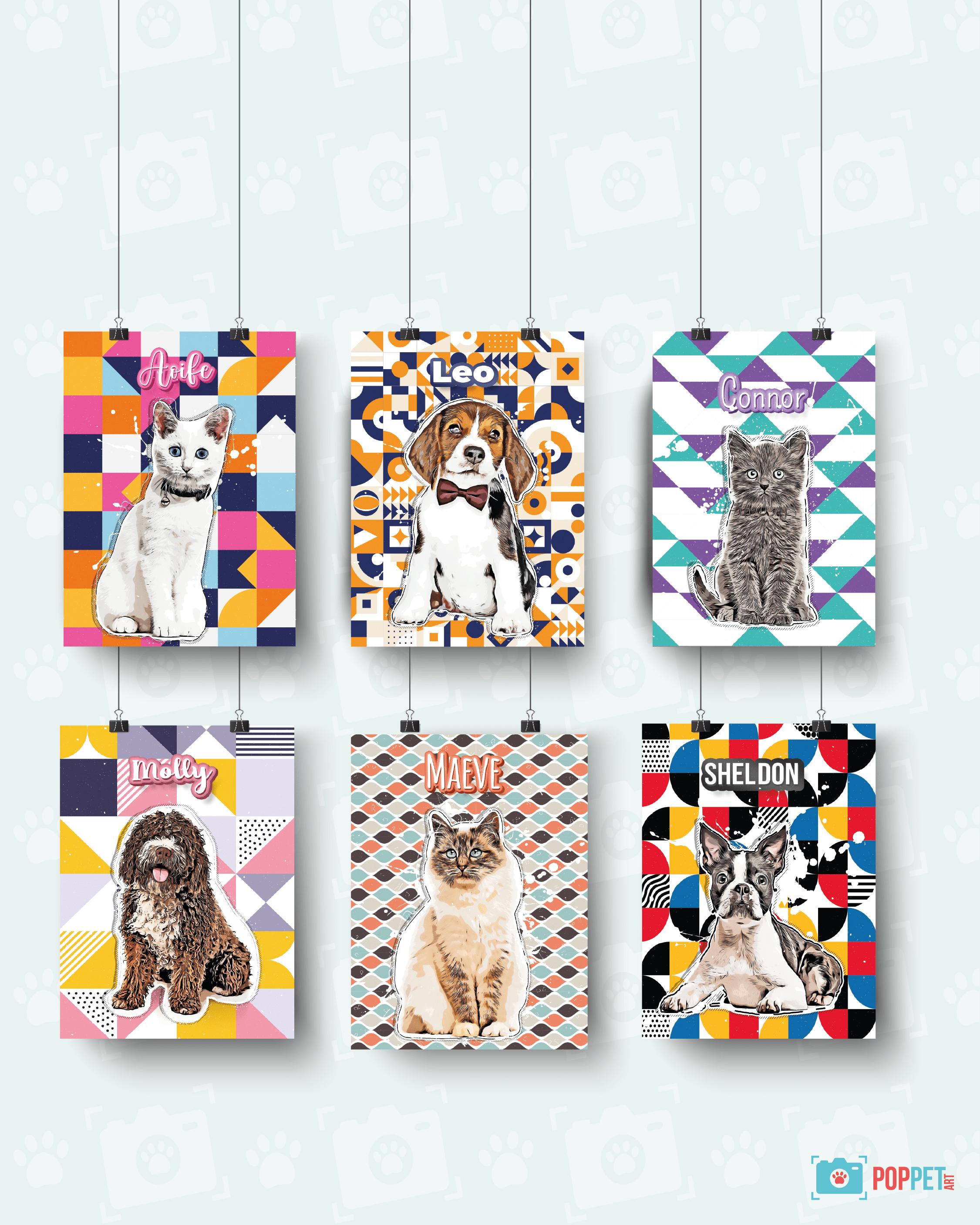 Pop Pet Art – Custom Pet Art